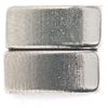Magnetic Clasp Curve 11x6x5mm 2 Hole Nickel